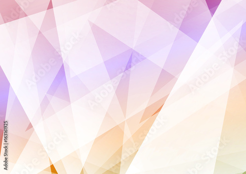 Modern hipster abstract triangular background. Bright vivid geometrical colorful folder layout template