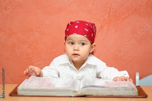 girl, little, costume , pirate,