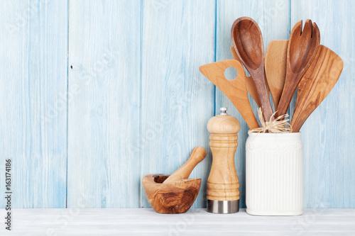 Kitchen utensils - 163174186