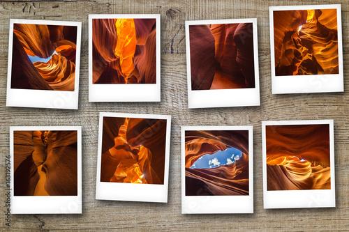Polaroid Antelope canyon, Arizona