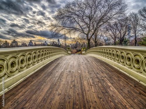 Fototapeta Bow bridge Central Park