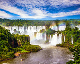 Fototapety Incredible exotic waterfalls of Iguazu
