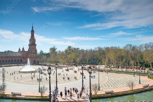 Plaza de España Seville, Andalucia, Spain Poster