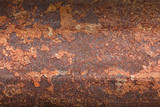 Rusty metal texture background for interior, exterior or industrial construction concept design.