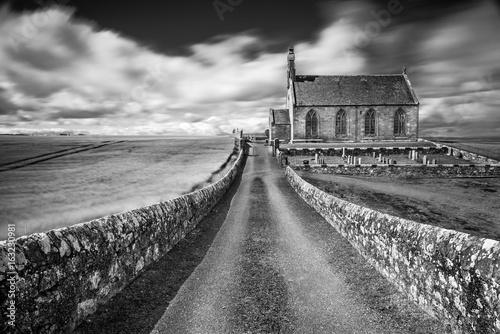 Boarhill Church, Fife , Scotland Poster