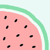 Abstract Watermelon Design - 163234917
