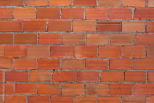 Deurstickers Baksteen muur Brick wall. Background texture.