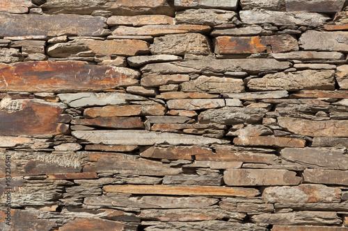 Old stone masonry.