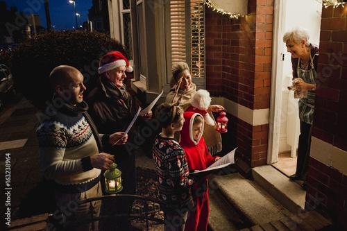 Family Carol Singing