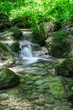 Wasserfälle in der Teufelsschlucht - 163249795