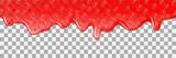 Strawberry background jam vector dripping drop splash texture - 163251752