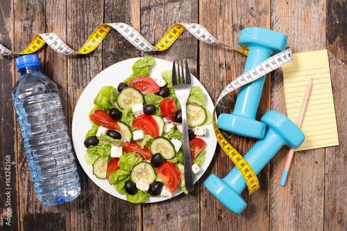 health food concept,diet plan © M.studio