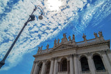 View of the Archbasilica of St. John Lateran in Rome, Italy - 163262333