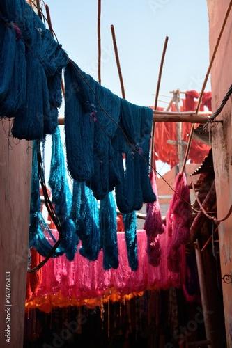 Maroc - Quartier des teinturiers