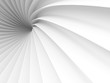 Abstract White Tunnel Design Background