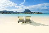 lagon paradisiaque à tahiti en polynésie  - 163282138