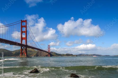 The Golden Gate Bridge of San Francisco, CA