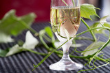 Glass of white wine - 163335106