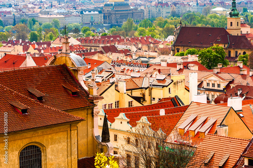 Prague is the capital of the Czech Republic, the European state