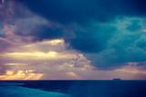Beautiful sea landscape during sunset