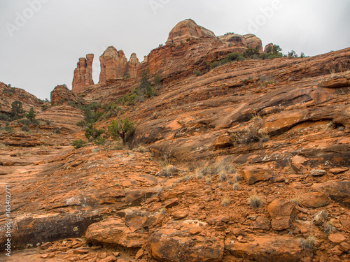 Hiking the Sedona red rock country