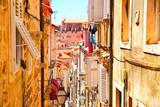 Picturesque street in Dubrovnik