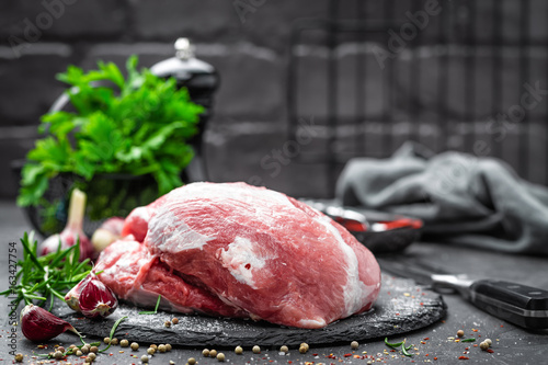 Raw meat - 163427754