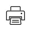 Printer vector icon.