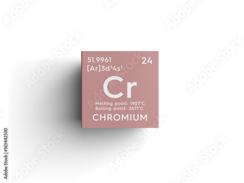 Chromium Transition Metals Chemical Element Of Mendeleevs