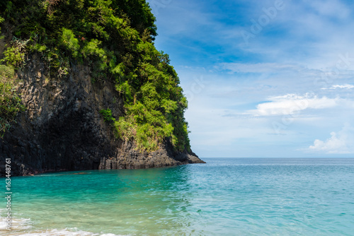 Tuinposter Bali Tropical White Sand Beach in Bali, Indonesia