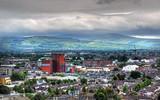 A view of Dublin, Ireland.
