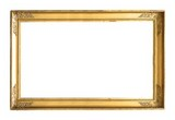 Gold frame for paintings, mirrors or photos - 163474356
