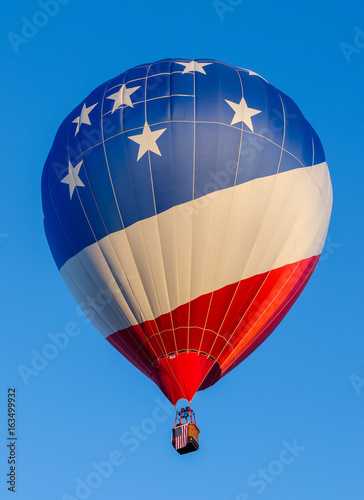 Deurstickers Ballon American Flag Balloon