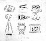 Cinema symbols - 163503164