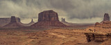desert landscape with horse in Monument Valley, USA