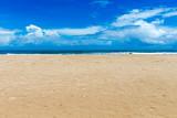 beach and tropical sea - 163573150