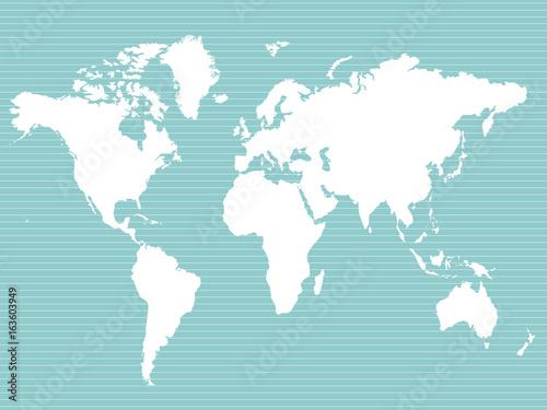 Foto op Aluminium Wereldkaarten 世界地図 ビジネス グローバル