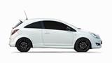 small white sports car