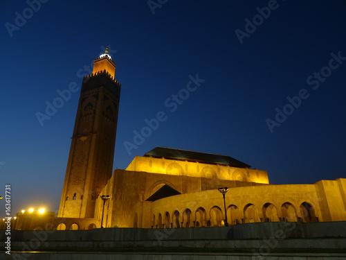 Hassan II mosque, Casablanca Poster