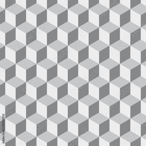 Seamless geometric abstract pattern. Vector illustration.