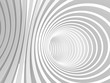 Abstract White Tunnel stripes Background