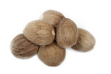 nutmegs isolated - 163646993