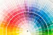 Quadro Color palette, samples of various paint