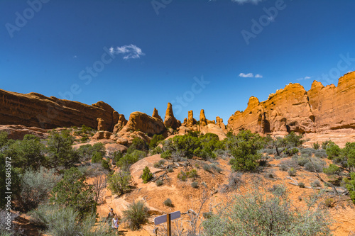 Arches National Park Utah Rock Formations