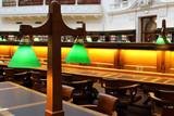Green library lamps lighting equipment - 163721596