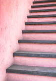 Pink stairs - 163735111