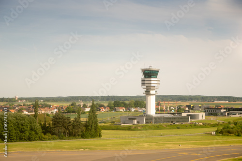 Brussels international Airport terminal