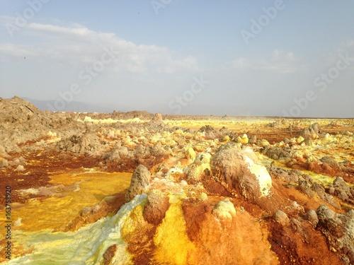 Volcan Dallol, Ethiopie