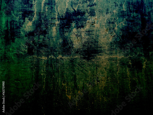 Dark green grunge and dirty abstract background illustration