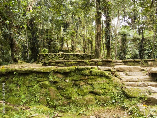 Ruins in Colombia